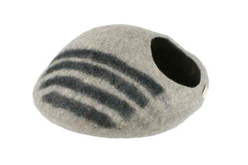 Couchage en laine pour chat.