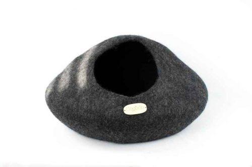 Panier en laine pour chat