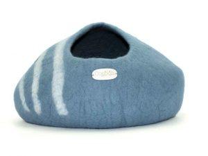 Panier pour chat bleu