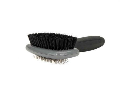 Brosse carde double VETOCANIS pour chien.