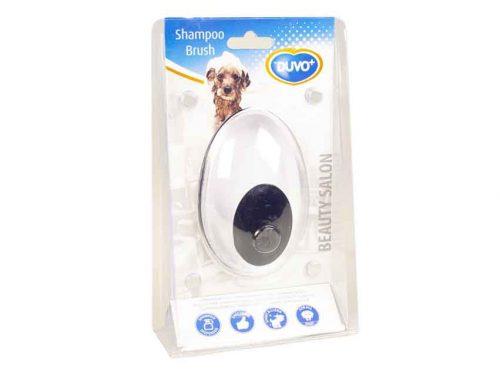 Brosse à shampoing de Duvo+ pour chien