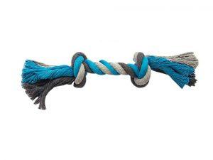 corde en coton avec nœud pour chien