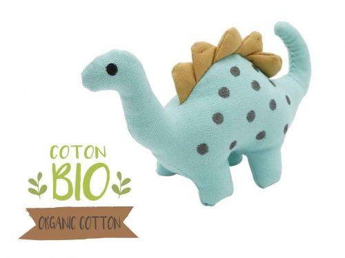 jouet peluche pour chien en forme de diplodocus