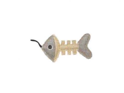 Jouet arête de poisson pour chat duvoplus.