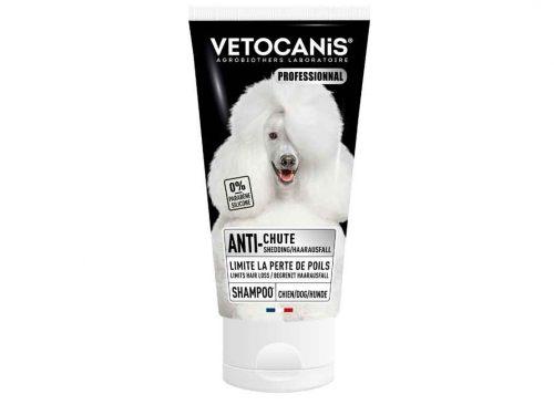 Shampoing professionnel anti-chutes de poils VETOCANIS