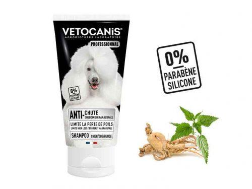 Shampoing professionnel anti-chutes de poils