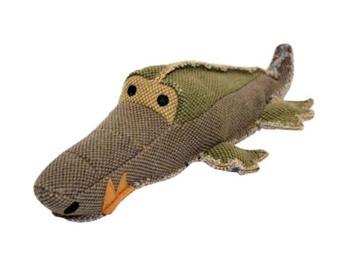Jouet crocodile pour chienn