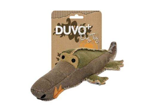 Jouet crocodile pour chien solide et durable.